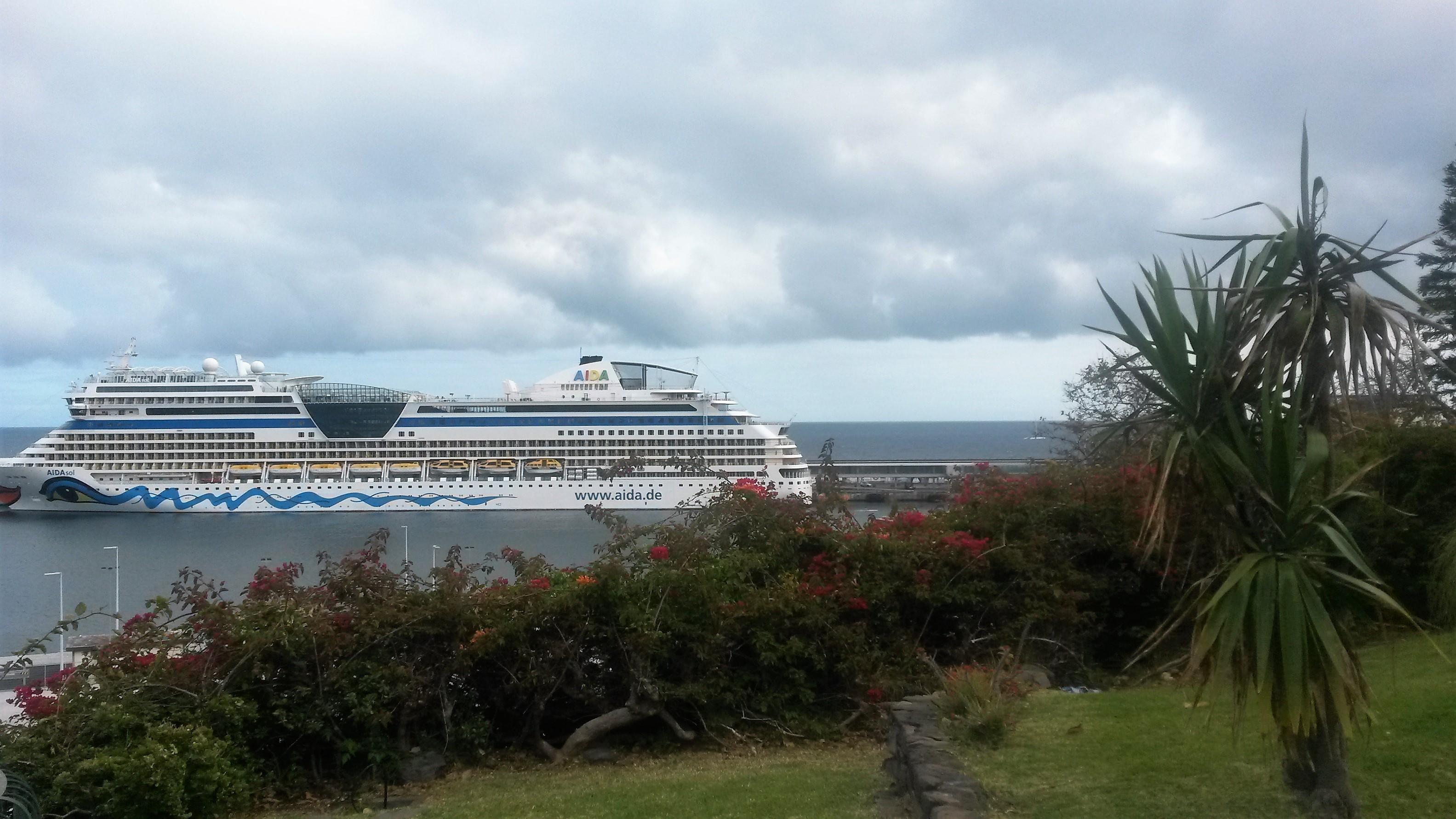 unsere 1. Kreuzfahrt, Kanarische Insel