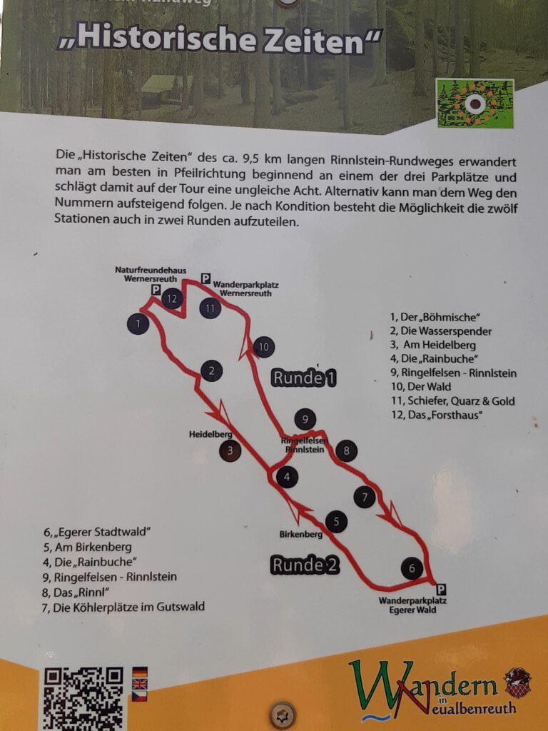 Wanderung Ringelfelsen Bad Neualbenreuth