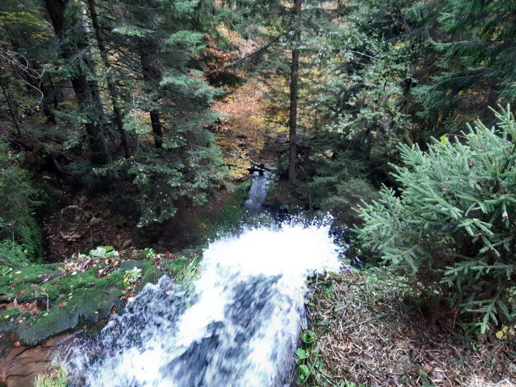 Herbstliche Wanderung zum Sankenbachwasserfall