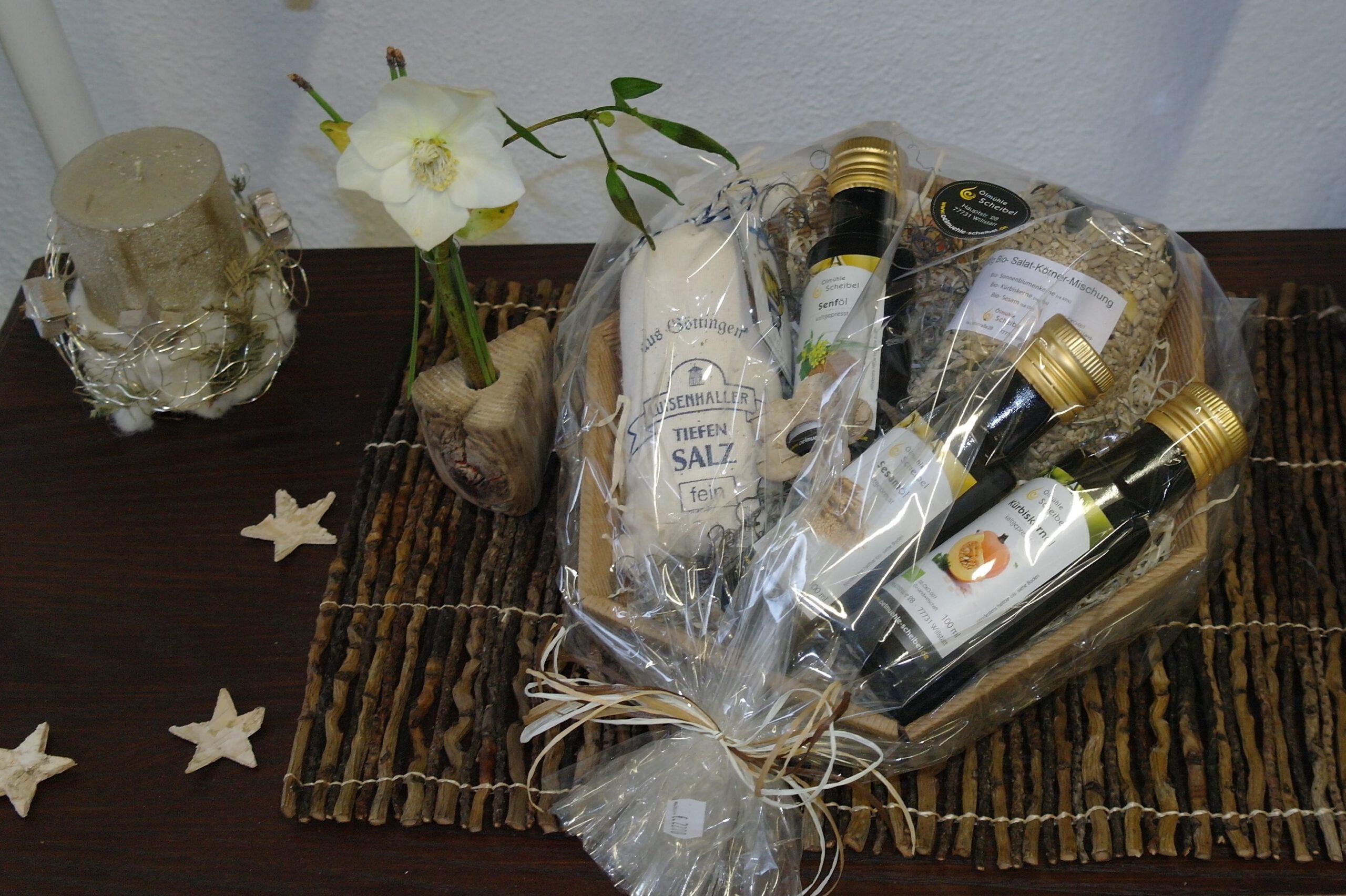 Ölmühle Scheibel Geschenke